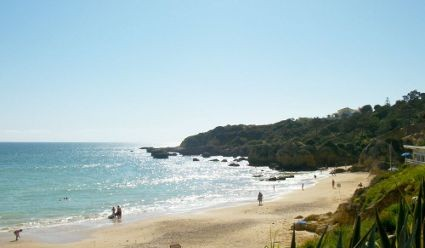 praia da oura beach algarve - Photo 3